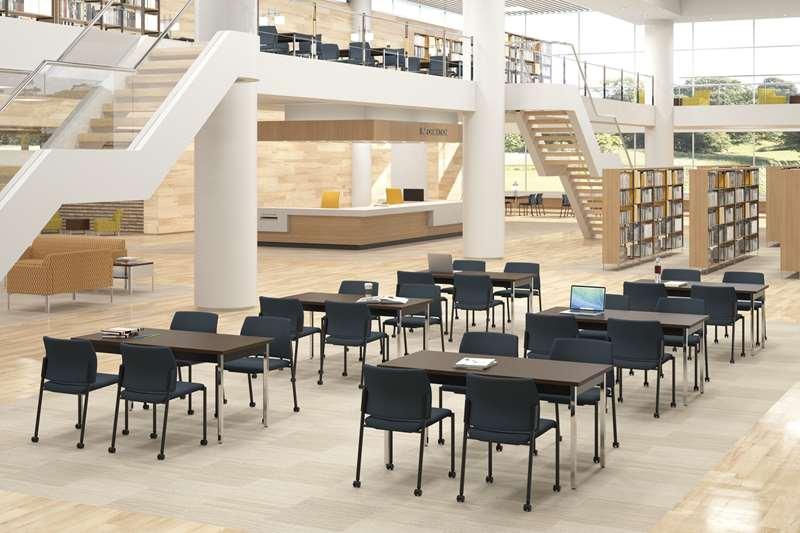 University library study area
