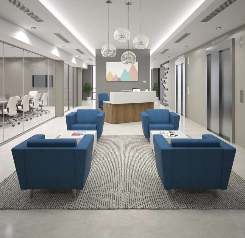 Lobby of a corporate office