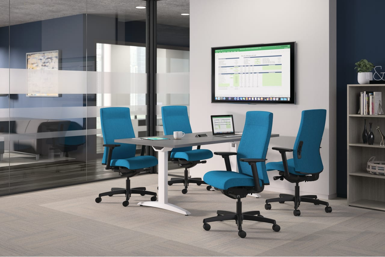 government office meeting space