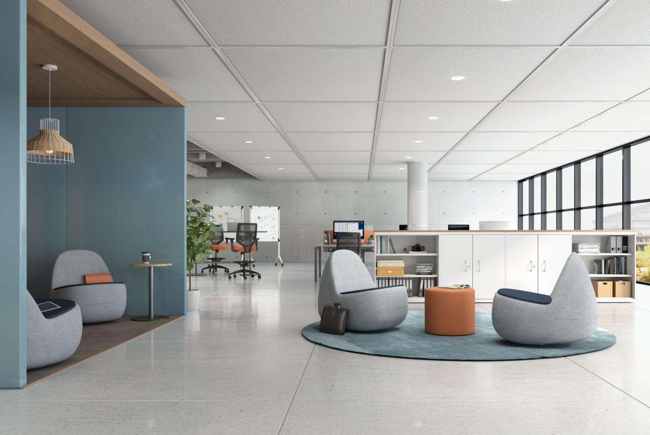 Office lounge area