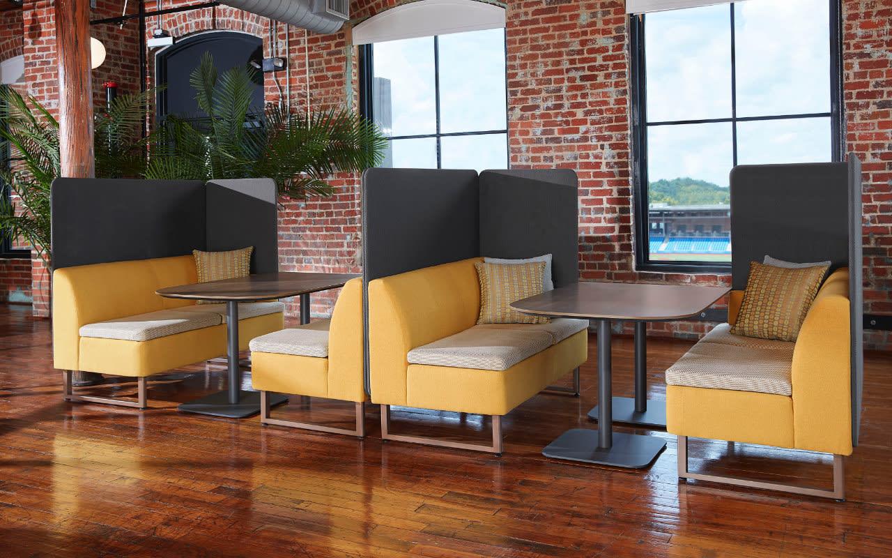 Hospitality industry lounge